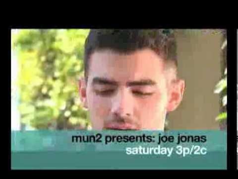 Mun2 presents promo  Joe Jonas, Right Now