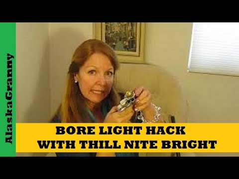 Bore Light Hack From Thill Nite Brite Fishing Gear