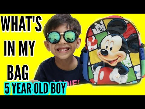 Whats In My Bag By 5 Year Old | Ranveer Singh