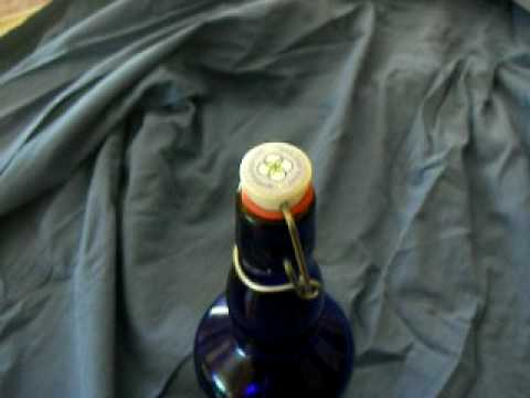 How to Open sym.blue.ology Blue Bottle Love  cobalt blue water bottles