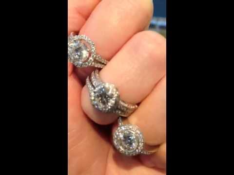 Beautiful Diamond Rings Sparkle