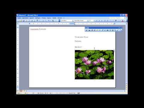 Microsoft Word 2003 Einladung A5