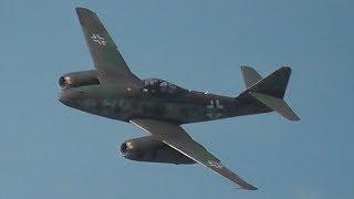 """Messerschmitt Me 262 """"Schwalbe"""" - First Flight Over Berlin after 61 Years, Historical Footage!"""