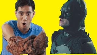 Best new 2017 Zach King magic tricks - Batman in real life fun
