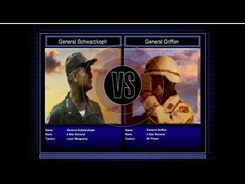 Command and Conquer Generals Zero Hour Reborn challenge with laser general and general griffon