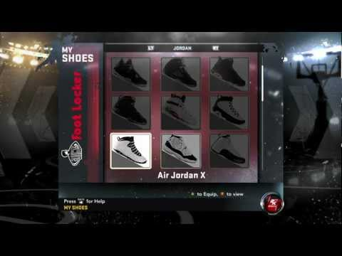 Unlock Jordan Retro Collection NBA 2K12 (Complete Set of 34)
