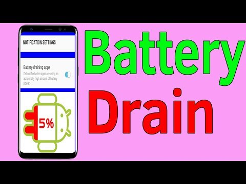 Samsung Galaxy J7/S7/S8/S9 : How To Get Notification About Battery Draining App - Helping Mind