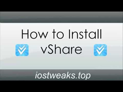 how to install vshare without a computer [2017]