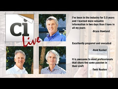 Ci Live! Builder Testimonials
