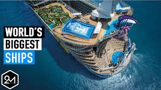 Top 10 Biggest Cruise Ships In The World 2017