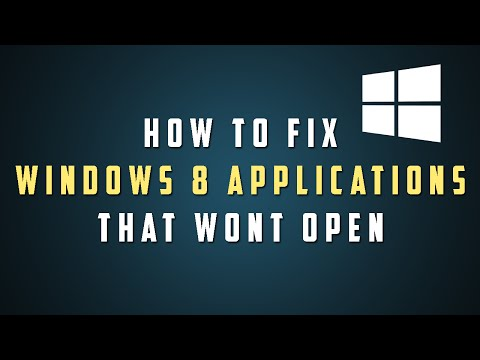 How To Fix Programs that Won't Open in Windows 8.1 (File Explorer)