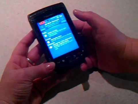 Blackberry torch weather channel app