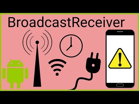 BroadcastReceiver Tutorial Part 1 - STATIC RECEIVERS - Android Studio Tutorial