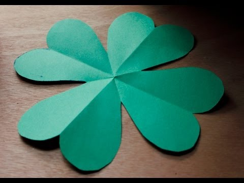 St. Patrick's Day Craft : Shamrocks cutout (St. Paddy's Day)