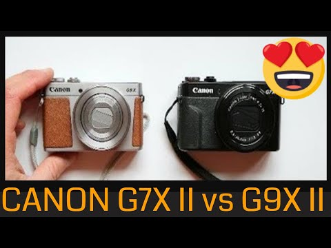 Canon G7X II vs Canon G9X II Which one is better?