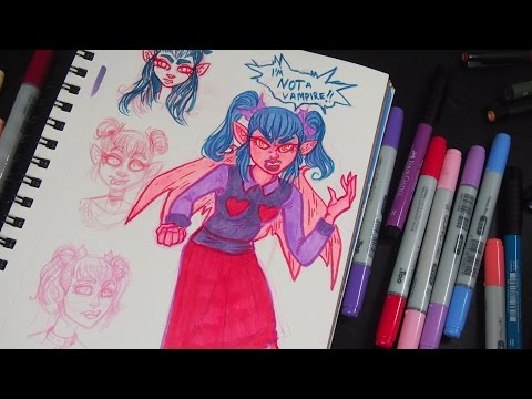 Creating Characters | Sketch Chat