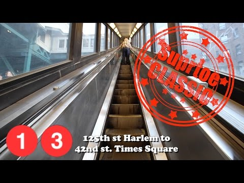 (1) (3) 125th Harlem to Times Square 42nd st