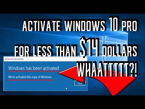 Buy Windows 10 Pro for less than $14 ?!