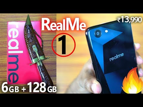 RealMe 1 (6GB | 128GB) Unboxing & Hands on Review! 🔥The Best Budget Phone of All Time?