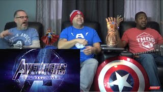 Download Avengers Endgame Trailer Reaction. Video