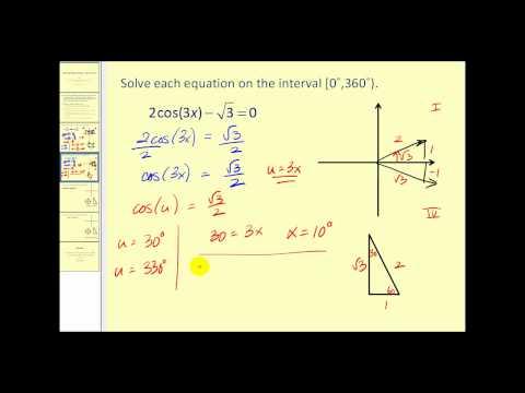 Solving Trigonometric Equations IV