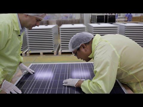 Chinesische Solarmodule inspiziert - Patrick will´s wissen (2)