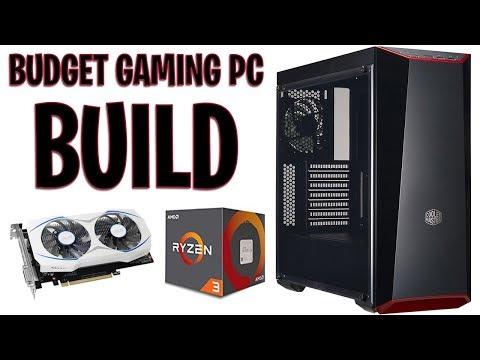 ($500) Building A Budget Gaming PC! Ryzen 3 1200 + GTX 1050 Ti