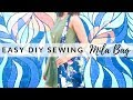 EASY BEGINNER SEWING PROJECT - THE MILA BAG