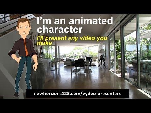 How to Create Talking Characters With PowerPoint and Vydeo Presenters