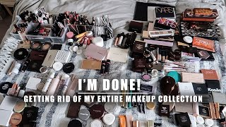 decluttering my entire makeup collection   Serein Wu