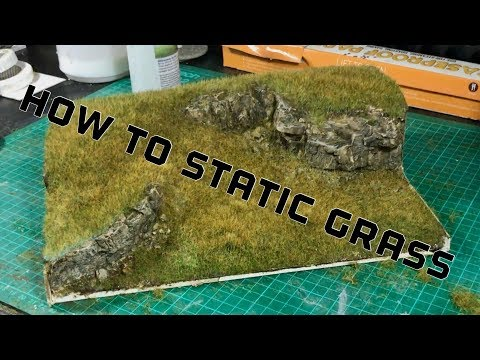 How to Use Static Grass The Basics Video 1