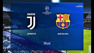 PES 2020 | Juventus vs Barcelona | UEFA Champions League Final | Match Gameplay