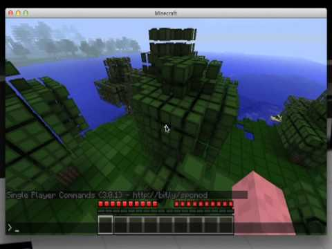 how to install worldedit and spc for minecraft on mac os x lion