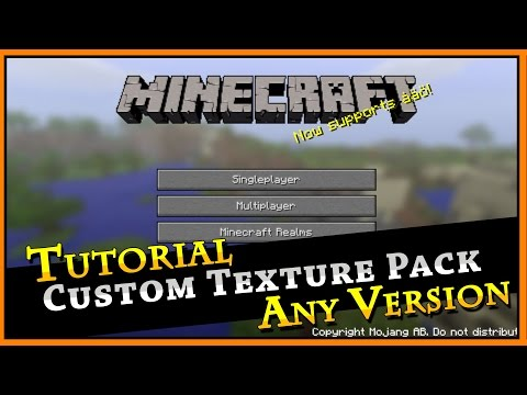 Create Your Own Texture Pack :: Minecraft Tutorial