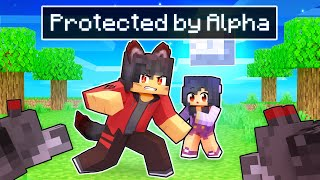Protected By The ALPHA Wolf In Minecraft!
