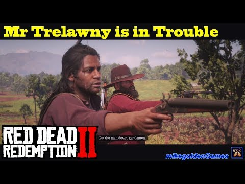 Rescuing Mr Trelawny - Magicians For Sport | Red Dead Redemption 2 Episode 18