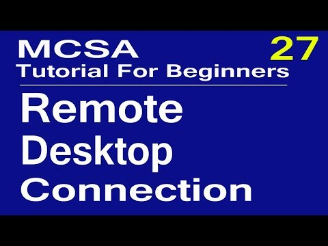 018 - How To Setup Remote Desktop Connection || in Windows 7,windows 8 & windows 10 over lan