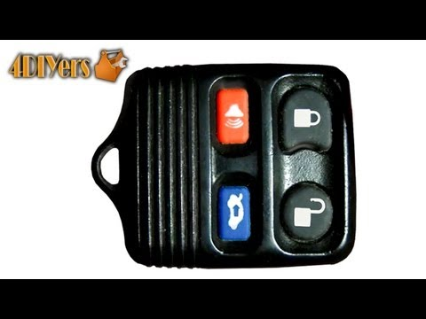 DIY: Ford Keyless Remote Battery Replacement & Disassembly