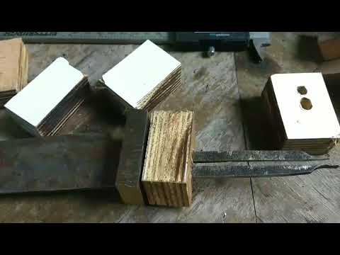 Lesson 5: how to do a stack leather handle