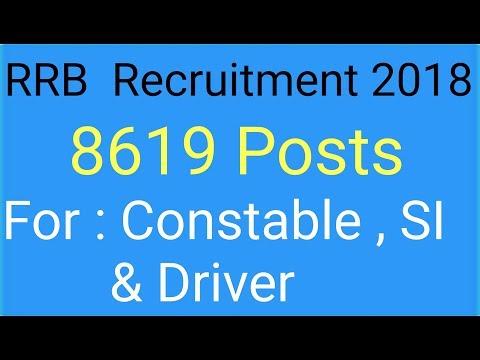 Railway recruitment , rrb recruitment 2018.