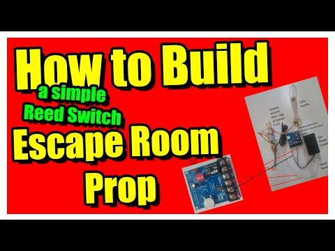 How to build a Simple Reed Switch Escape Room Prop