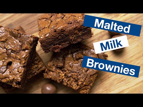 Chocolate Malt Brownies || Le Gourmet TV Recipes