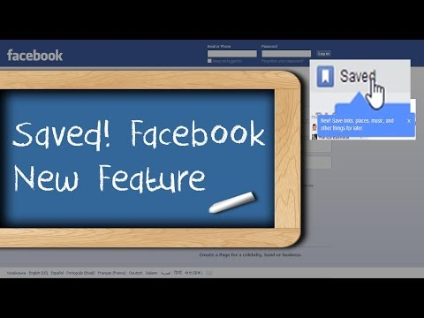 Introducing Save on Facebook And How Can You Get It - Facebook Guide