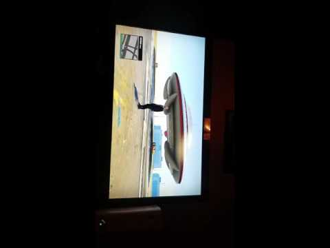 Andrew found a spaceship UFO at the airport on Grand Theft Auto 5 Xbox 360