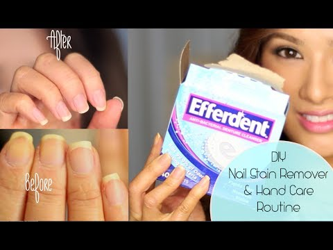 How to Get Rid of Yellow Nails & Dry Hands ( CLOSED Giveaway L'Occitane & London Butter)