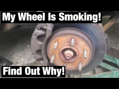 Why is my wheel smoking? Let's find out!