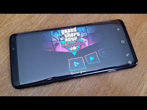 GTA Vice City Galaxy S9 Gameplay - Fliptroniks.com