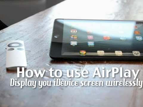 How to display your iPhone/iPad screen on your TV