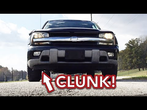 Trailblazer front end clunk noise - Easy Fix - Clunking noise going over bumps