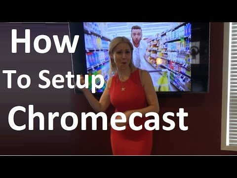 How to Setup Chromecast on TV with phone